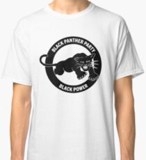 Black panther party panthers sticker Classic T-Shirt