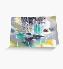 Grey n Colorful Greeting Card