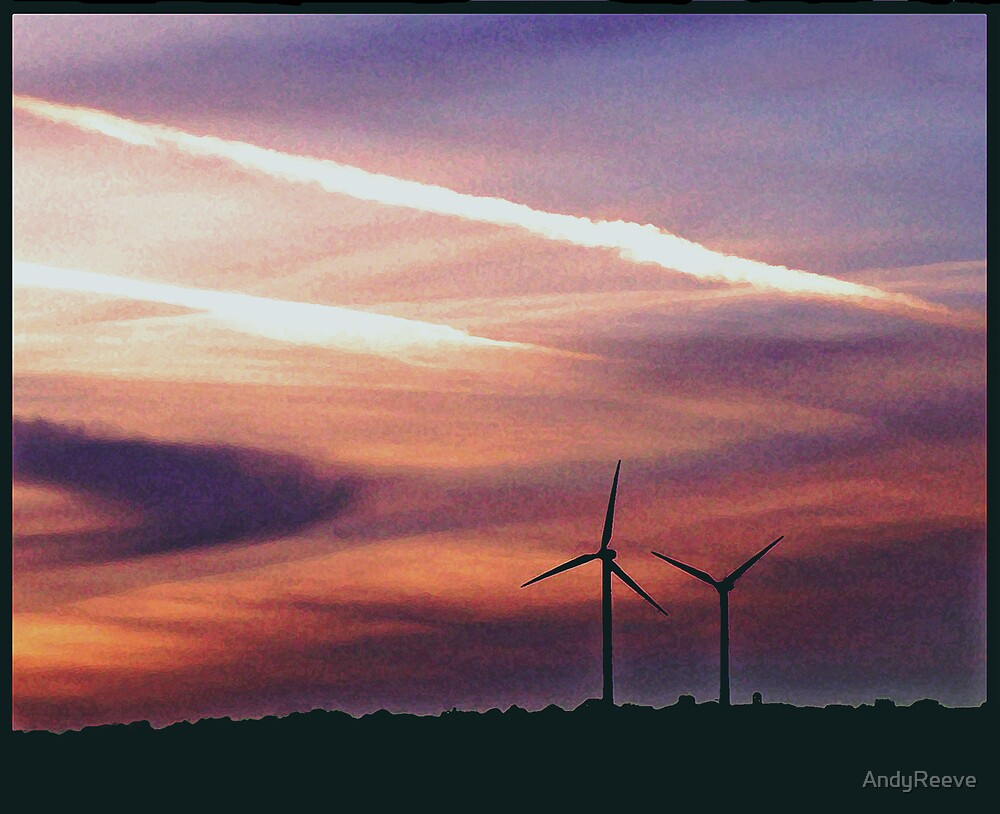 Urban Windmills by AndyReeve