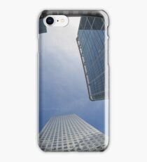 canary wharf skyscrapers london iPhone Case/Skin