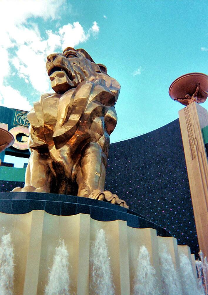 MGM Lion by Erika Benoit