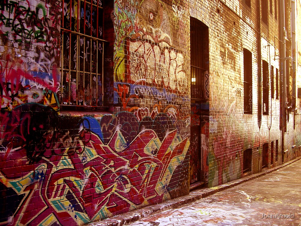 Alley Art by JohnArnold