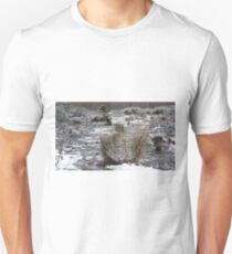 Snow Dusted Scrubland Floor T-Shirt