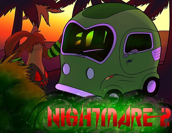 Nightmared 2 CoverArt by TageaRealm