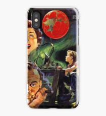 Family dream of a new planet, science fiction movie, poster iPhone Case/Skin