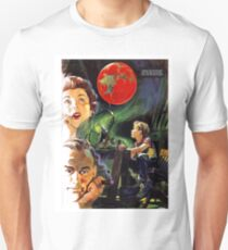 Family dream of a new planet, science fiction movie, poster Unisex T-Shirt