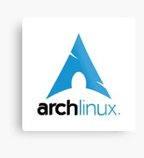 Arch Linux Merchandise Metal Print