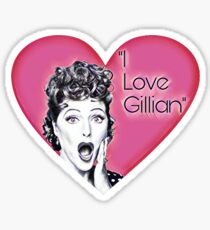 I Love Gillian Sticker