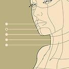 digital form - H06 - face by Jesse Bisset