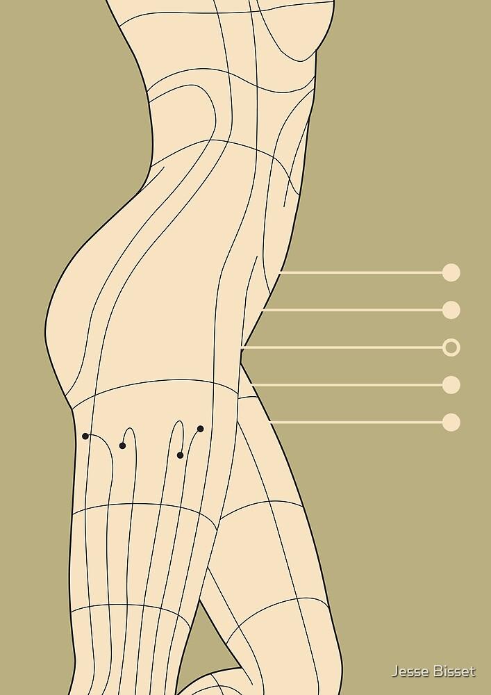 digital form - H08 - thigh by Jesse Bisset