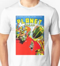 Planet comics, science fiction, cover, poster T-Shirt