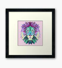 Lion Animals Gift Framed Print