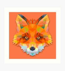 Fox Animals Gift Art Print