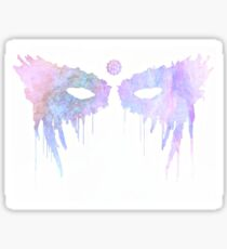 Lexa eye makeup design Sticker