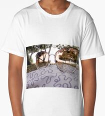 A look at the trees through sunglasses Long T-Shirt