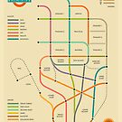 PALMISTRY HAND MAP by JazzberryBlue
