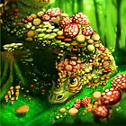 Mushroom dragon by DigitalCloud