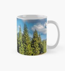 mountain road in autumn forest Mug
