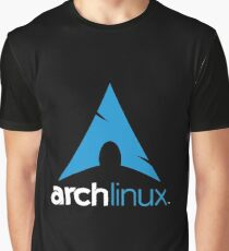 Arch Linux Merchandise Graphic T-Shirt