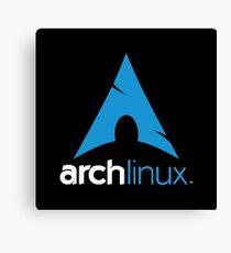 Arch Linux Merchandise Canvas Print