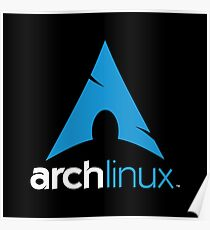 Arch Linux Merchandise Poster