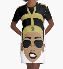 Cool Neffy Graphic T-Shirt Dress