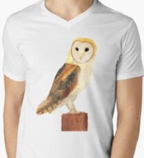 Watercolour Barn Owl T-Shirt