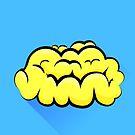 Human Brain Icon by valeo5