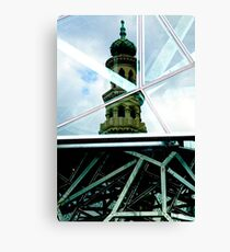 Federation Square  meets Forum Canvas Print