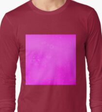 Abstract Pink Background Long Sleeve T-Shirt