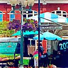 Roanoke VA - Market Street by Susan Savad