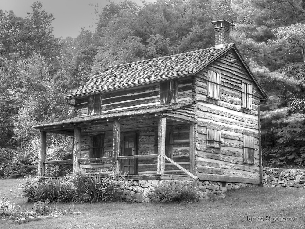 Country Cabin by James Brotherton