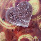 Ik Hou Van Je Chocolate Heart by Silken Photography