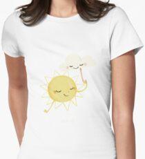 Little Sun T-shirt col V femme