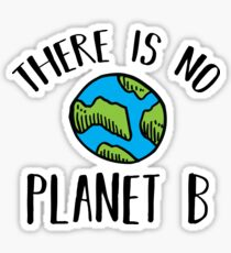 There Is No Planet B (Black) Sticker
