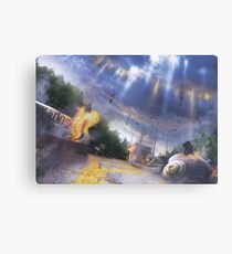 Party Pooper  Canvas Print