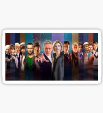 All 14 Doctors Sticker