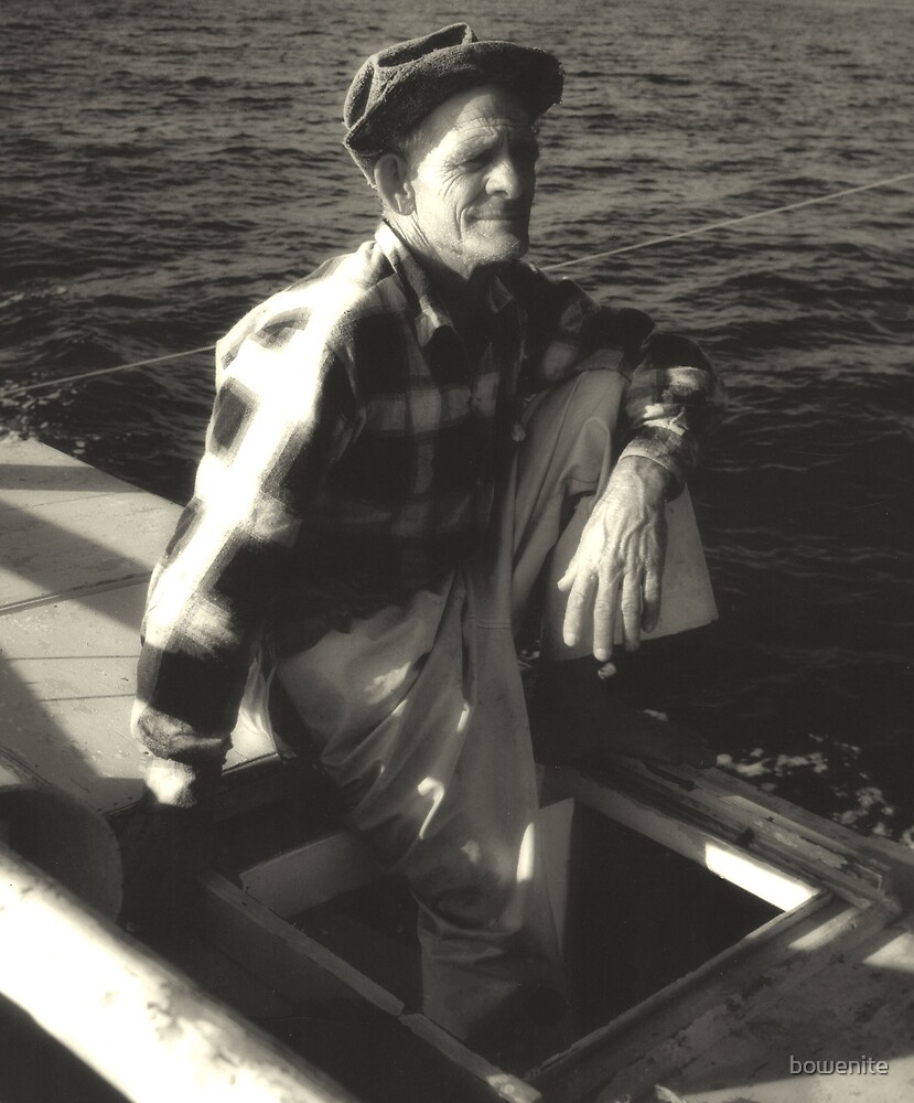 """""""My Dad  the Fisherman"""" by bowenite"""