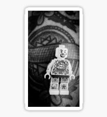 Brickography Pictures - Body Art Sticker