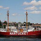 United States lightship Nantucket (LV-112) by Lee d'Entremont