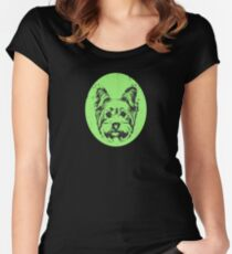 Yorkshire Terrier Dog Women's Fitted Scoop T-Shirt