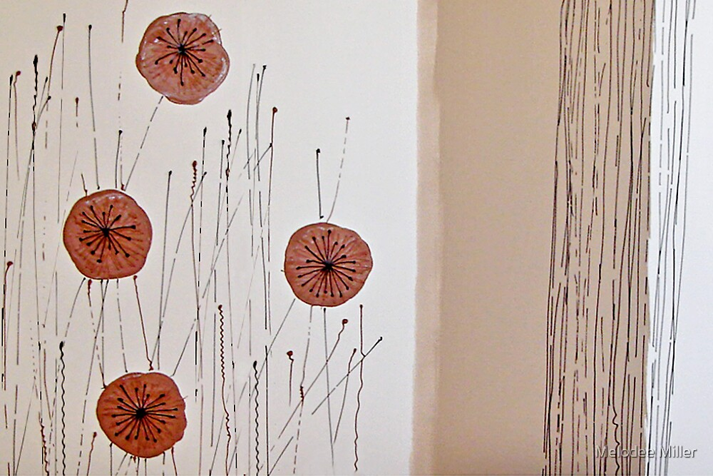 Dried Poppies by Melodee Miller