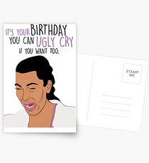Kim Crying Postcards