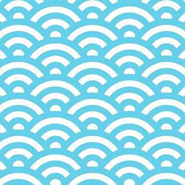 Ocean Pattern by deheleisa