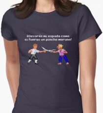 The Secret of Monkey Island 2 (ESP) Womens Fitted T-Shirt