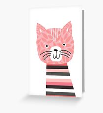 kittens in mittens Greeting Card