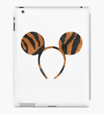 Tiger Ears Inspired Silhouette iPad Case/Skin