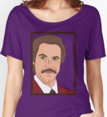 Ron Burgundy Women's Relaxed Fit T-Shirt