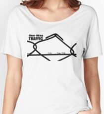 One-way Traffic Women's Relaxed Fit T-Shirt