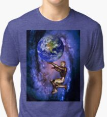 Atlas of the future Tri-blend T-Shirt